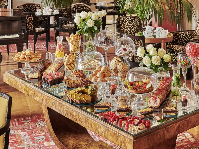 Afternoon Sweet Buffet at the Belles Rives