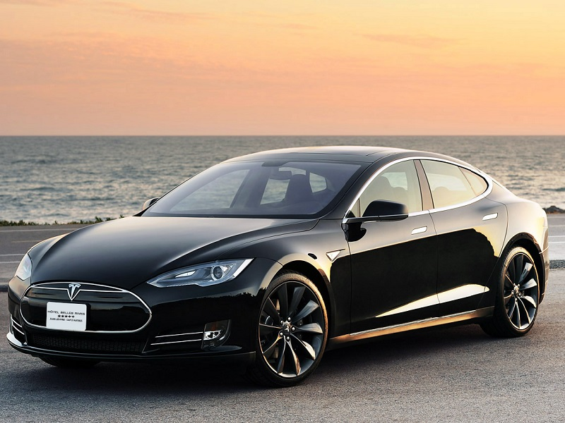 Mercedes S-Class or Tesla S