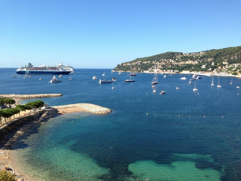 The Cap Ferrat and its beaches