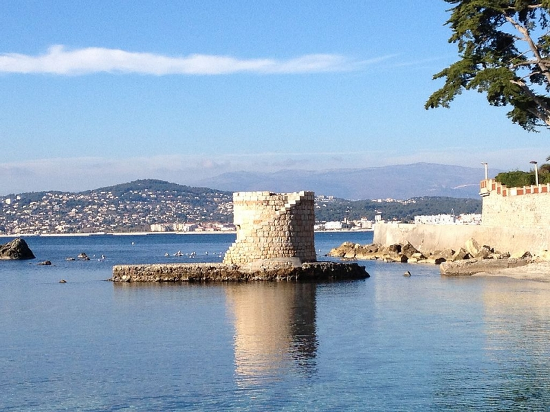 The Cap d'Antibes and its beaches